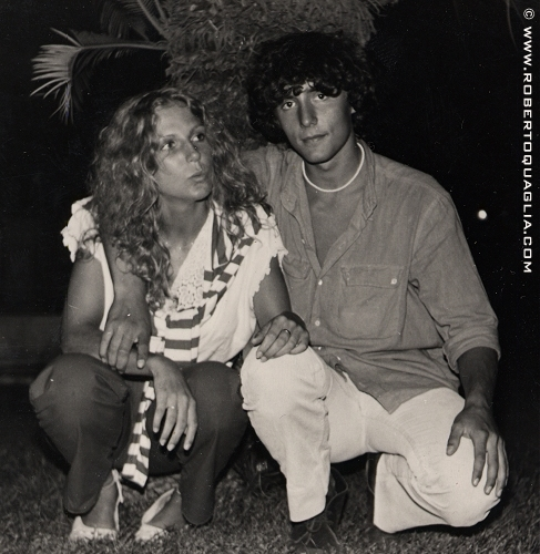 Roberto con bettina (santa margherita, estate 1979)
