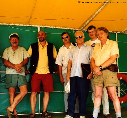 With Joe Haldeman A Mironov I Hobana J Cowie N Spinrad Romania 2001
